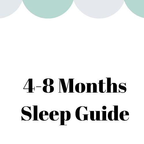4-8 Months Sleep Guide