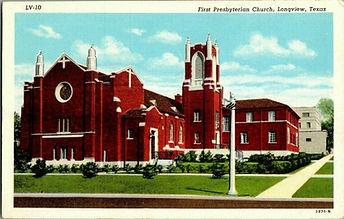 1930S-Longview-Tx-First-Presbyterian-Chu
