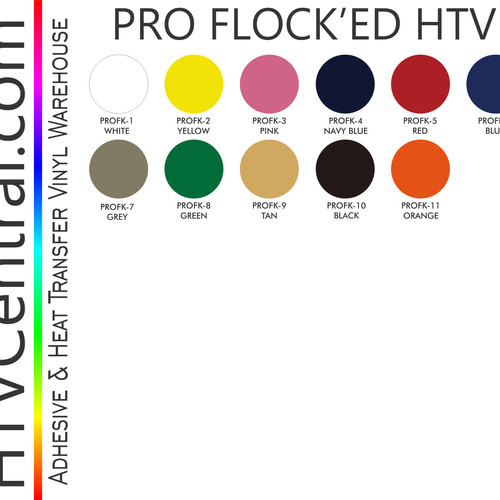 Flock Htv L Htvcentral Com Home Of Transfer Vinyls