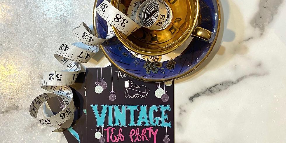 Vintage Tea Party - Sat 4pm