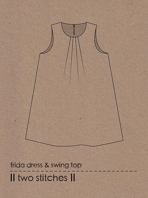 Two Stitches Frida Dress & Swing Top