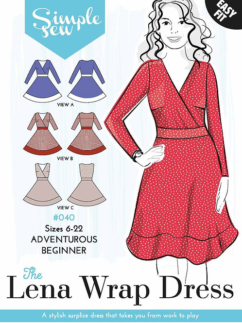 Simple Sew Lena Wrap Dress