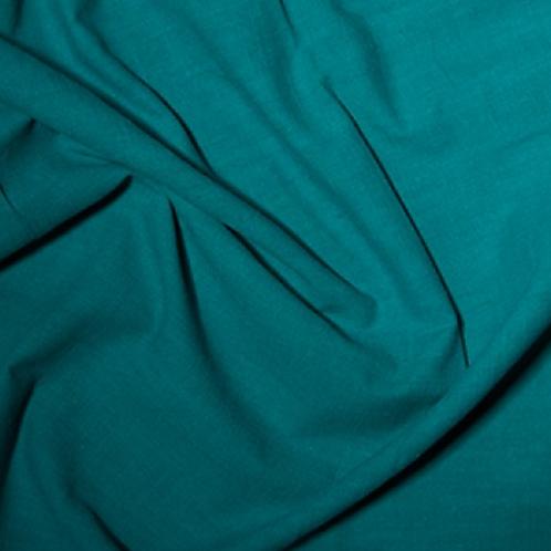 Linen Look Cotton - Teal