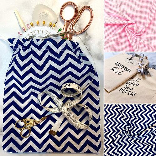 Drawstring Bag Sewing Kit