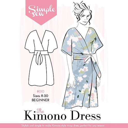 Simple Sew Naomi Wrap Dress