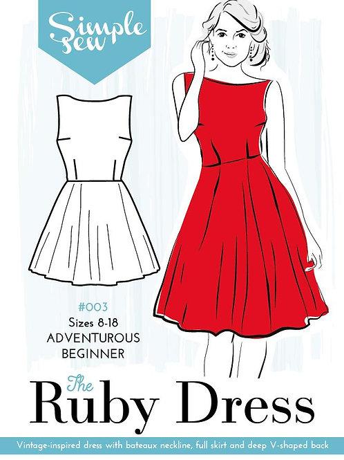 Simple Sew Ruby Dress