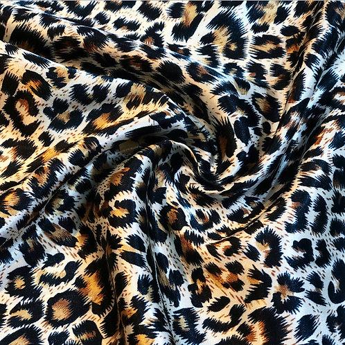 Leopard Satin
