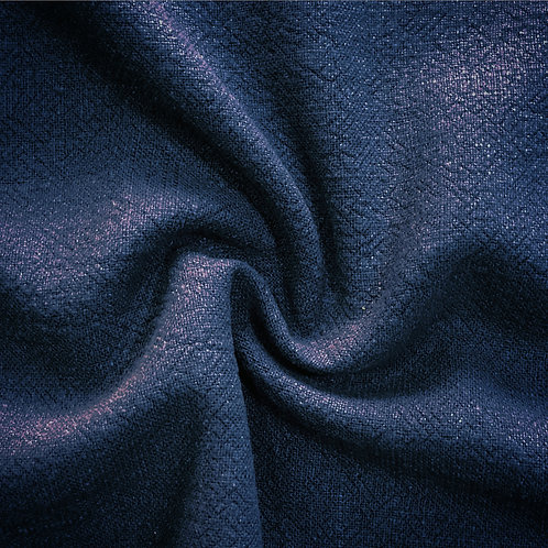 Stone Washed Linen - Navy