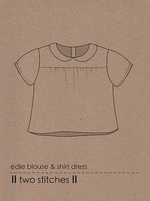 Two Stitches Edie Blouse & Shirt Dress
