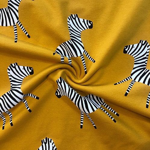 Zebra French Terry Jersey