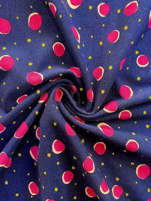 Multi Dot Organic Cotton Jersey