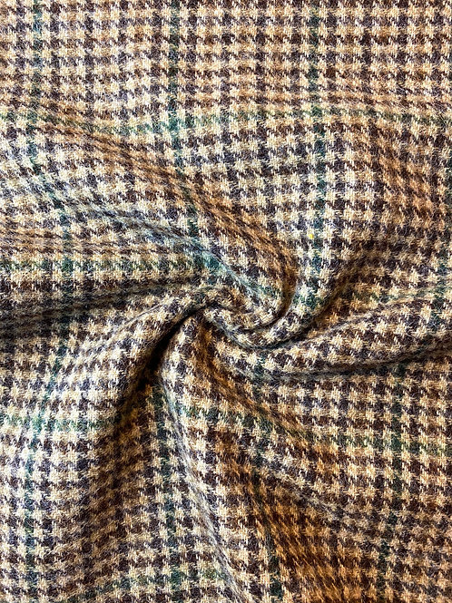 Organic Checked Wool
