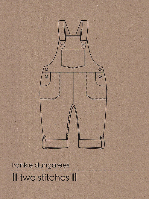 Two Stitches Frankie Dungarees/Dress