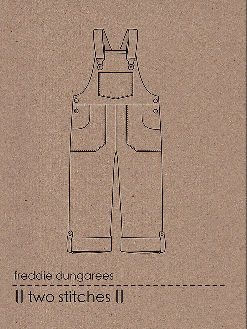 Two Stitches Freddie Dungarees/Dress