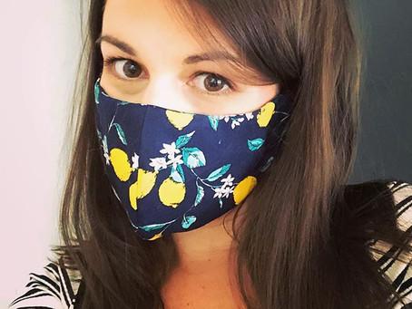 DIY Face Mask - the ultimate 2020 fashion accessory!