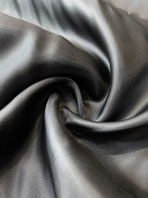 Organic Black Vegan Silk