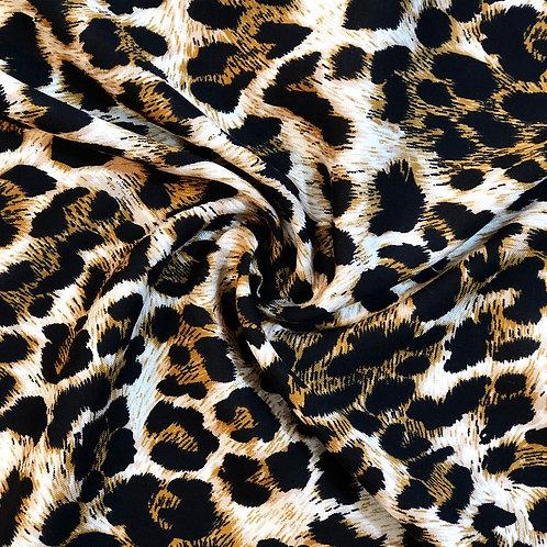 Leopard Viscose Chalis