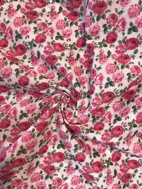 Vintage Floral 100% Cotton