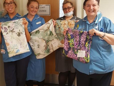 Stay Home & Sew - NHS Uniform Bags