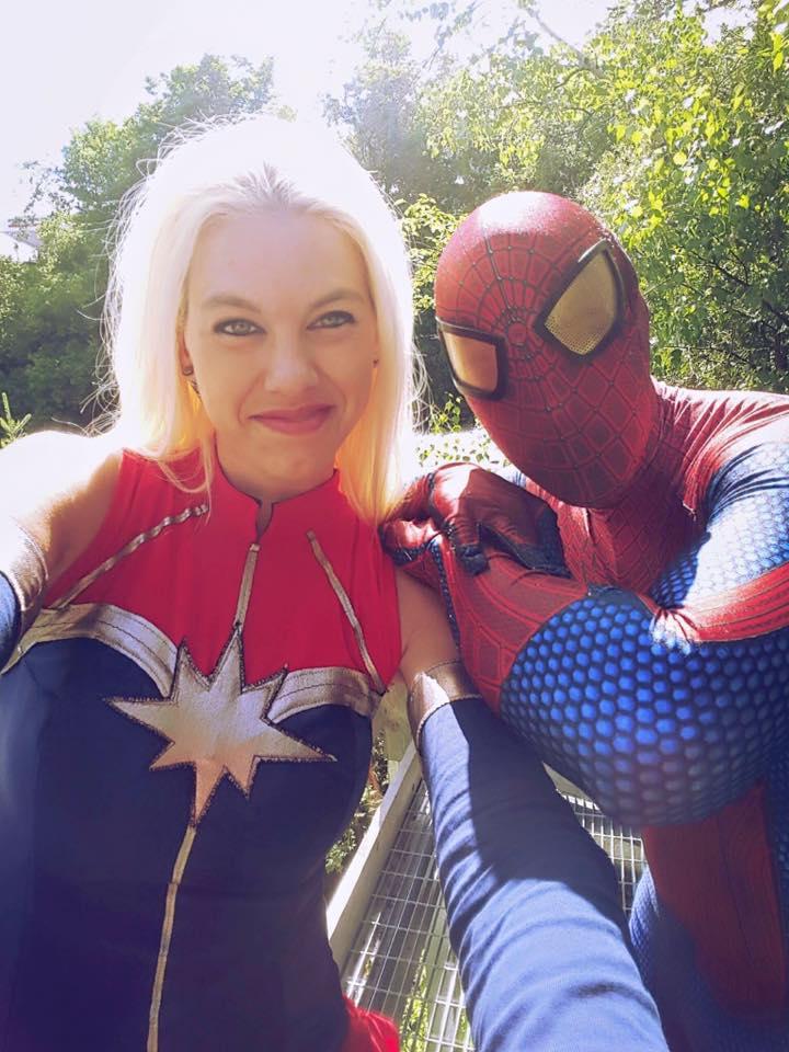 spidey et mrs Marvel
