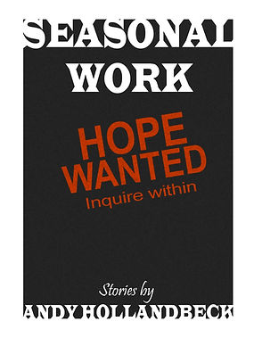The Cover of the Short Story Collection Seasonal Work