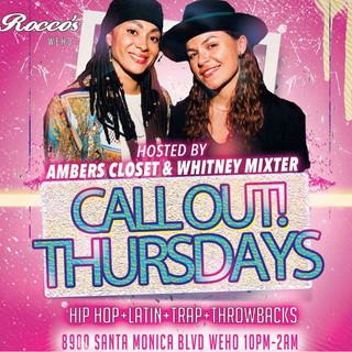 Call Out Thursdays