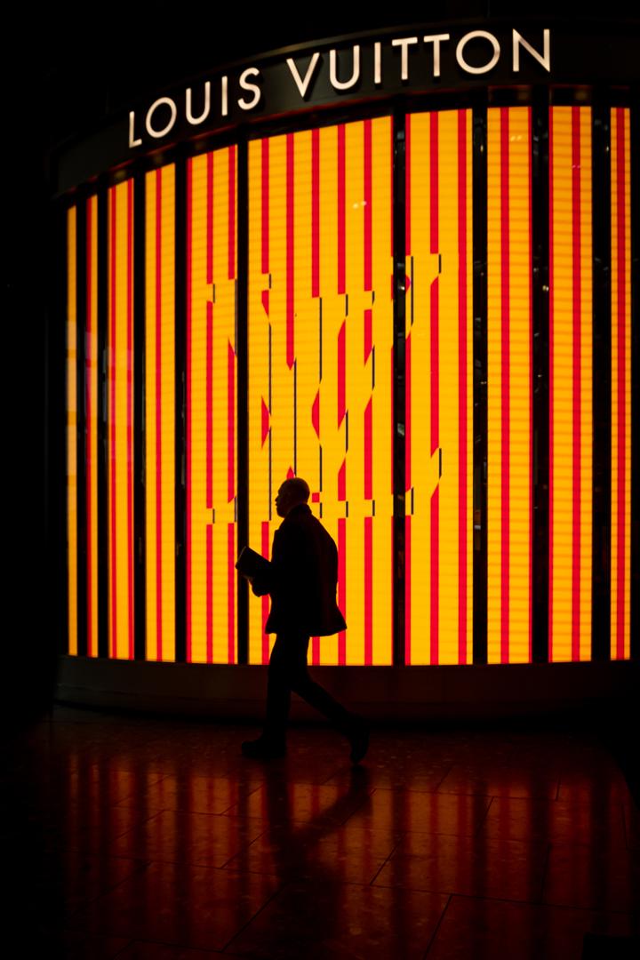 Neon Silhouette