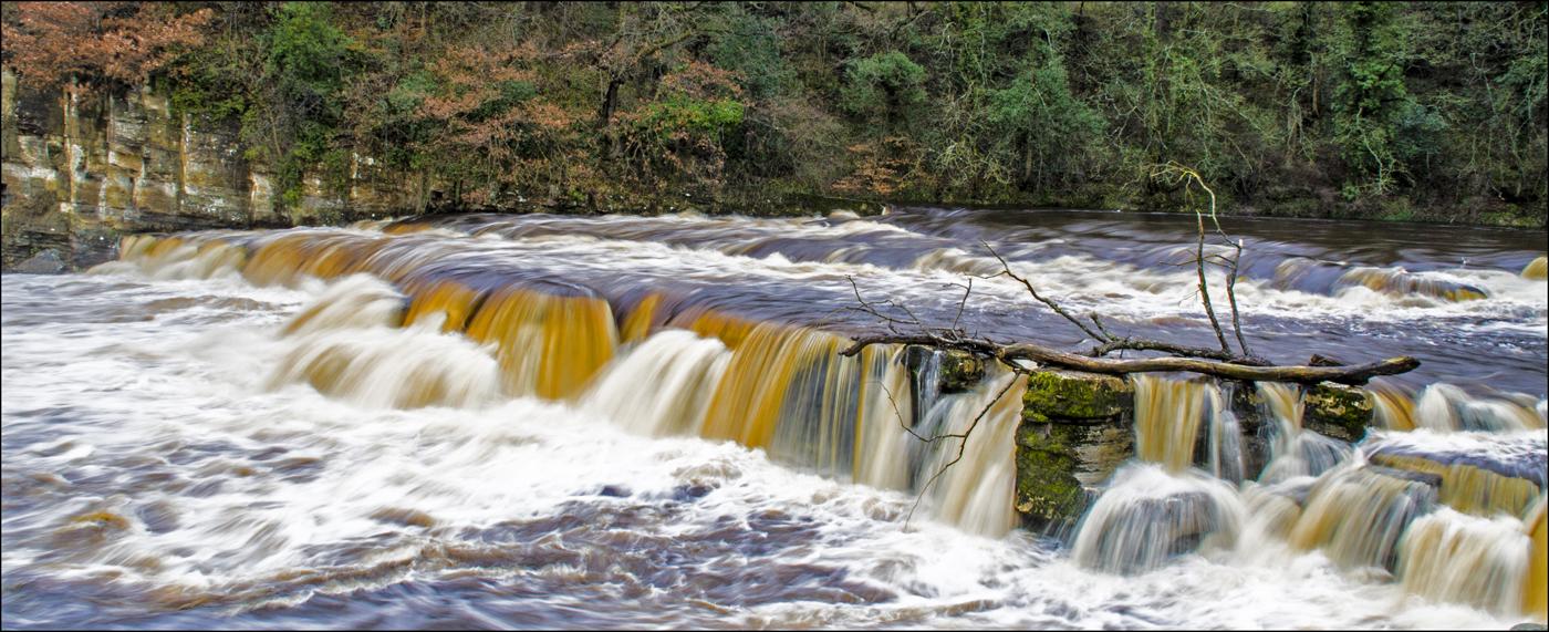Richmond Falls in Flood