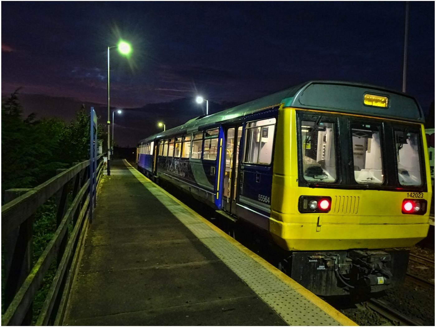 The Train at Platform 1