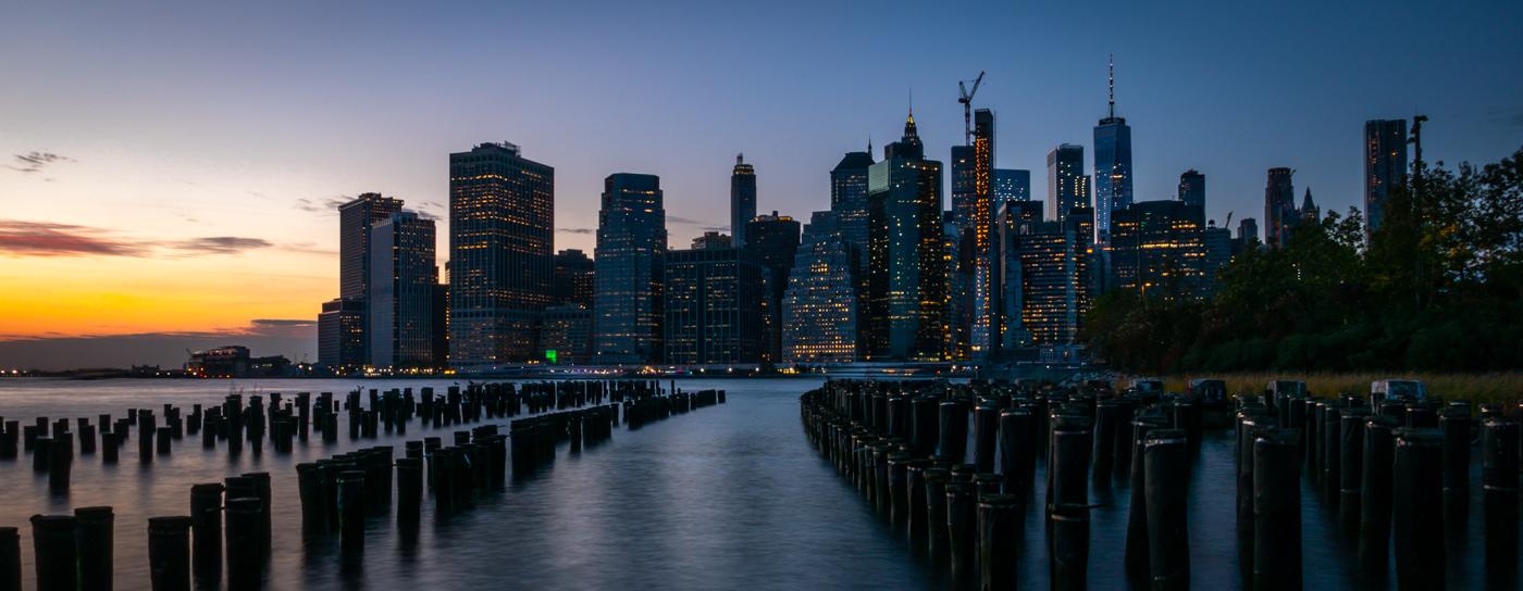 NYC Pier Pylons