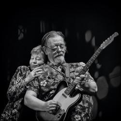 John Playing the Blues