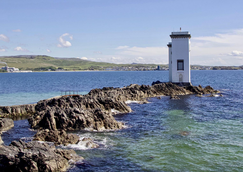 Carraig Fhada Lighthouse