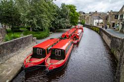 Unusual - Six Red Boats