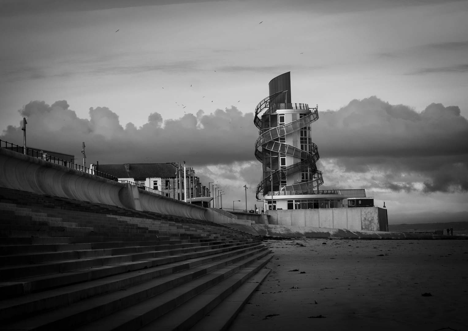Early Morning Redcar Vertical Pier
