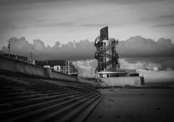 Early Morning Redcar Vertical Pier