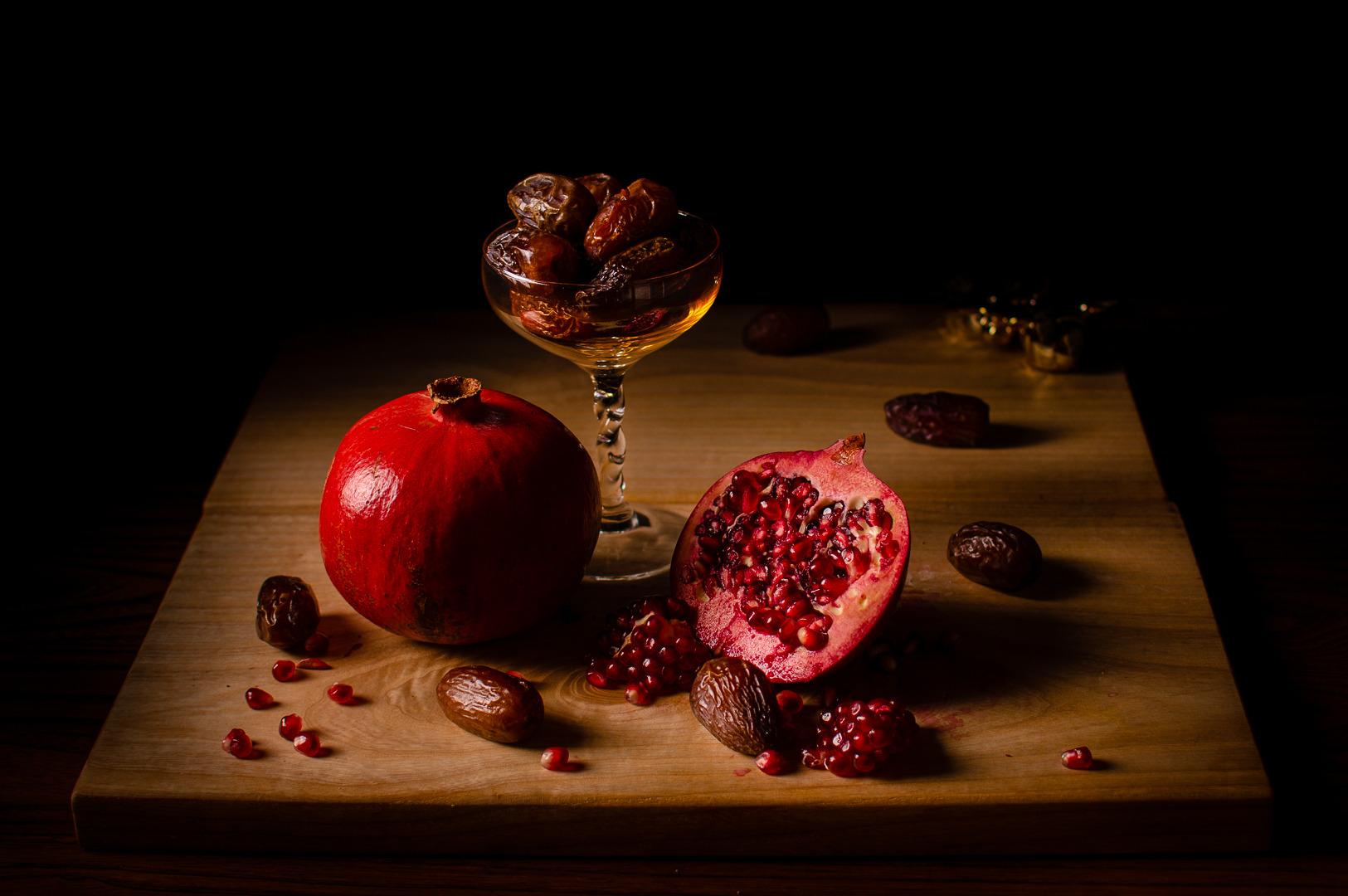 Dates and Pomegranate