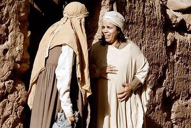 Mary visiting Elizabeth