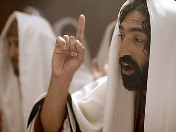 Jesus leads the Nazareth synagogue.
