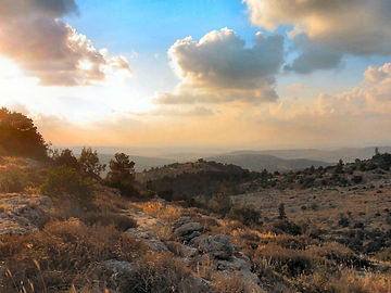 Panorama from Beth Meir, Israel