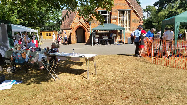 20180804-Burghclere-NP stand at  Horticu