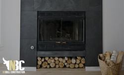 Fireplace Update with Tile NoBull