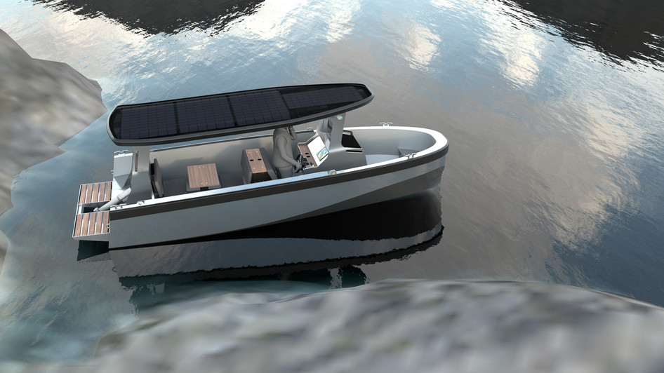 Elbåt Freepower MVP2 Designskiss