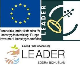Logotyp EU och Leader fond