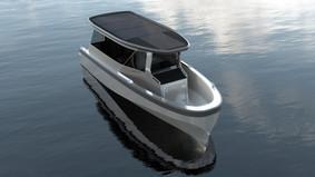 Elbåten Freepower MVP2 Designskisser