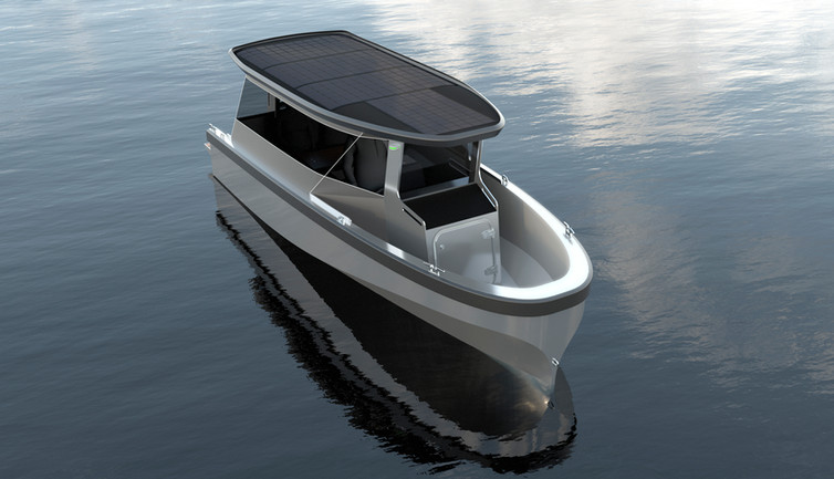 Freepower Solar Boat