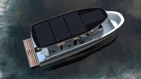Elbåt Freepower MVP2 Designskisser