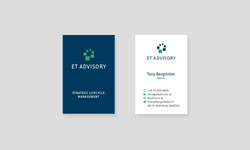 ET Advisory Visitkort