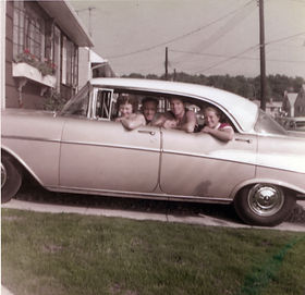 1957 July 6th Family Photo in new '57 Ch