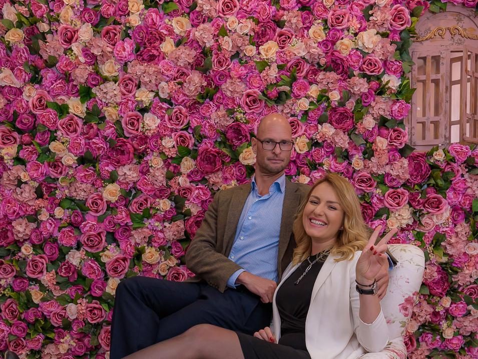 IL Siciliano rose wall