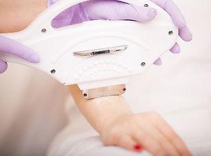 skin-care-hands-laser-epilation-cosmetol